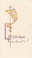 Andachtsbild Catholique Toujours! - Communion Ligsdorf 1962 - 11,5*6,5cm  (33104) - Andachtsbilder