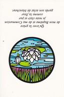 Andachtsbild Seerose Communion -  10,5*7cm (33109) - Andachtsbilder