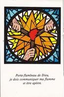 Andachtsbild Fackeln Porte-flambeau De Dieu -  10,5*7cm (33110) - Andachtsbilder