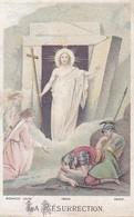 Andachtsbild La Résurrection - Jesus Auferstehung -  7,5*4,5cm (33113) - Andachtsbilder