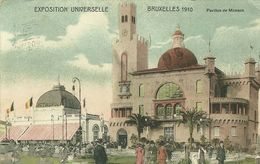 Bruxelles Exposition Universelle Bruxelles 1910 Pavillon De Monaco - Brussel (Stad)