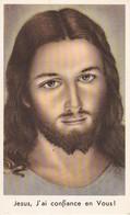 Andachtsbild Jesus, J'ai Confiance En Vous - 1956 -  12,5*8cm (33116) - Andachtsbilder