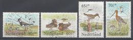 Pays-Bas 1984  Mi.nr: 1246-1249 Vogel Sommermarken  Oblitérés / Used / Gestempeld - Periode 1980-... (Beatrix)