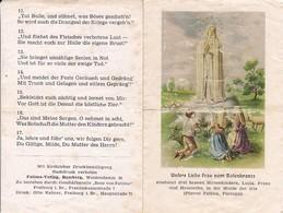 Andachtsbild Unsere Liebe Frau Vom Rosenkranze - Ave Von Fatima - 12,5*8cm (33120) - Andachtsbilder