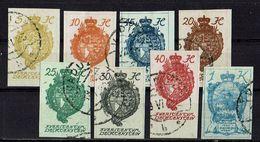 Liechtenstein 1920 // Mi. 17/24 O - Used Stamps