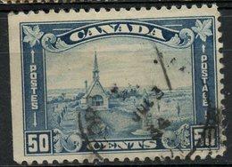 Canada 1930 50 Cent Grand Pre Issue #176  Son Cancel - 1911-1935 Règne De George V