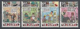 Pays-Bas 1984  Mi.nr: 1259-1262 Für Das Kindes  Oblitérés / Used / Gestempeld - Periode 1980-... (Beatrix)