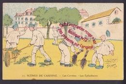 P134 - Scènes De Caserne Les Corvées - Les épluchures - A.P. Jarry 1912 - Militaria Humoristique - Humor