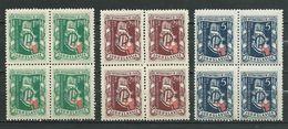 Yugoslavia 1948 Map Of Zagreb. -Croatia 4x Stamps MNH - Unused Stamps
