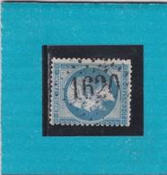 N° 22  GC   1620   GANGES  /  HERAULT  - REF 9820 - 1862 Napoleon III
