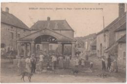 OISELAY -centre Du Pays , Lavoir Et Rue De La Corvée - Autres Communes
