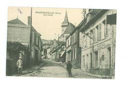 27 -- MAINNEVILLE -- Rue Pavée (Poste....) - Sonstige Gemeinden