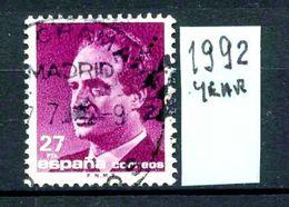 SPAGNA - Regno Di RE  JUAN CARLOS 1 - Year 1992 - Usato - Used -utilisè - Gebraucht. - 1931-Oggi: 2. Rep. - ... Juan Carlos I