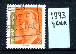 SPAGNA - Regno Di RE  JUAN CARLOS 1 - Year 1993 - Usato - Used -utilisè - Gebraucht. - 1931-Oggi: 2. Rep. - ... Juan Carlos I