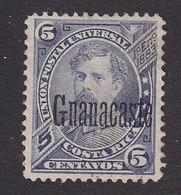 Costa Rica, Guanacaste, Scott #42, Used?, Alfaro Overprinted, Issued 1888 - Costa Rica