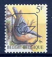 BELGIE * Buzin  PRE * Nr 826 P6 * Postfris Xx * GROENE GOM - 1985-.. Oiseaux (Buzin)
