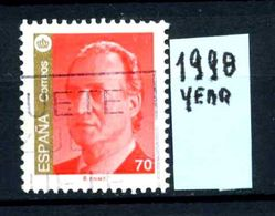 SPAGNA - Regno Di RE  JUAN CARLOS 1 - Year 1998 - Usato - Used -utilisè - Gebraucht. - 1931-Oggi: 2. Rep. - ... Juan Carlos I