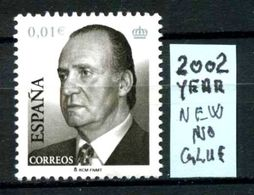 SPAGNA - Regno Di RE  JUAN CARLOS 1 - Year 2002 - Nuovo - New - Fraiche - Frisch - NO GLUE. - 2001-10 Ongebruikt