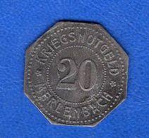 Merlenbach  57     20  Pf De  1917 - Monetary / Of Necessity