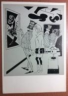 "RARE Vintage USSR Postcard 1984 Art Satire Abstract ""Art"" Picture Gallery Couple. Artist BIDSTRUP - Illustrateurs & Photographes"