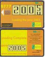 EGYPT - Loading The Year 2005, Menatel Telecard 10 L.E., Chip Incard 4, Used - Egypt