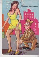 Pin Ups Pinup's Pin Up Humor Umoristiche Militari Vg - Pin-Ups