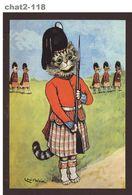 Carte Postale 'CHAT', Signée Louis Wain, Voir L'image (int_chat2-118) - Chats