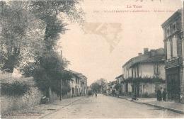 *** 81  ****   VILLEFRANCHE D'ALBIGEOIS  Avenue D'Albi - Timbrée TB - Villefranche D'Albigeois