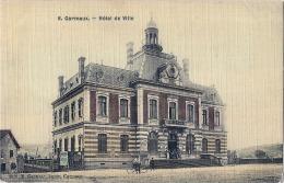 ***  81  ****  CARMAUX  Hotel De Ville Superbe Carte Colorisée Papier Toilé  Timbrée TTB - Carmaux