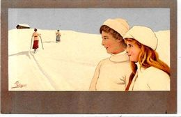 CPA Pellegrini Non Circulé Sport D'hiver VOUGA 601 Ski - Otros Ilustradores