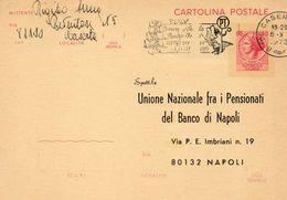 1973  CARTOLINA CON ANNULLO  CASERTA   + TARGHETTA - 6. 1946-.. Repubblica