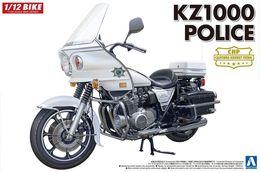 Kawazaki KZ1000 Police   1/12  ( Aoshima ) - Motorcycles