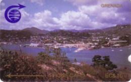 GRENADA : 002C EC$20 ST Georges (small Notch) USED - Grenada