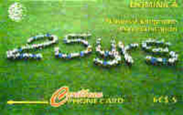 DOMINICA : 007A EC$5 25yrs Nat.Tel.Communicati USED - Dominica