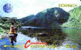 DOMINICA : 005A EC$40 Boeri Lake USED - Dominica