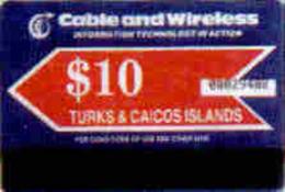 TURKCAIC : AU4 $10 'INFORMATION TECHNOLOGY' MINT - Turks And Caicos Islands