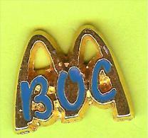 Pin's Mac Do McDonald's BOC - 4N10 - McDonald's