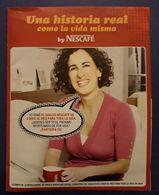 NESCAFE. PUBLICIDAD - UNA HISTORIA REAL. - Publicidad