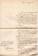 LETTERA   GENOVA - Manuscripts