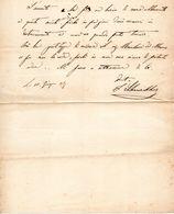 1880 LETTERA - Manuscripts