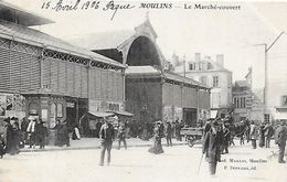 03)   MOULINS  - Le Marché Couvert - Moulins