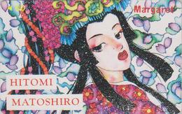 Télécarte Japon / 110-011 - MANGA - MARGARET By HITOMI MATOSHIRO - ANIME Japan Phonecard - 10146 - Comics