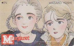 Télécarte Japon / 110-011 - MANGA - MARGARET By MASAKO YOSHI - ANIME Japan Phonecard - 10149 - BD