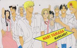 Télécarte Japon / 110-011 - MANGA - MARGARET By NARI YAMADA - ANIME Japan Phonecard - 10155 - Stripverhalen