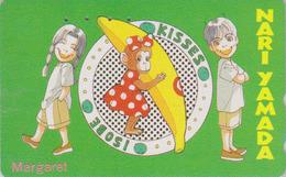 Télécarte Japon / 110-016 - MANGA - MARGARET By NARI YAMADA / Singe Monkey Affe Ape - ANIME Japan Phonecard - 10156 - Stripverhalen