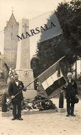 Carte Photo  Couville  Monument Aux Morts - Sonstige Gemeinden