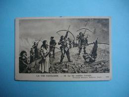 HISTOIRE  -  LA VIE GAULOISE  -  Le Tir Contre L'orage     -  Fernand Nathan éditeur - Histoire