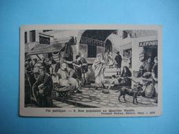 HISTOIRE  -  LA VIE PUBLIQUE   -  Rue Populaire Au Quartier Narsès   -  Fernand Nathan éditeur - Histoire