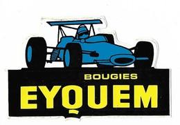 Autocollant - Automobiles - Bougies - EYQUEM - - Autocollants