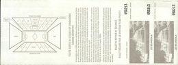 TICKET D'ENTREE  FFF LIGUE NATIONALE DE FOOTBALL..1ere DIVISION 1999/2000..SC BASTIA / MONACO - Tickets D'entrée